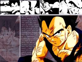 Vegeta Movie 12 WLPaper by Chichicken