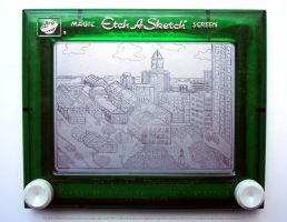 Boston Etch by bryanetch