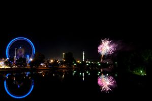 Volksfest Fireworks by Creative--Dragon