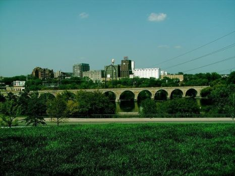 Stone Arch Bridge by arenee1999