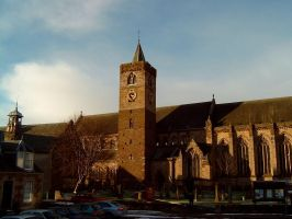 Dunblane Cathedral, Exterior. by jen-kollic