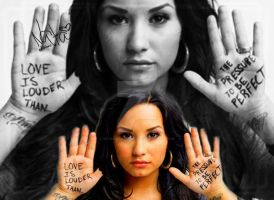 Demi Lovato Love is Louder by nataschamyeditions