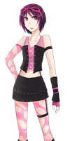 Cybergoth or something to that extent by teires