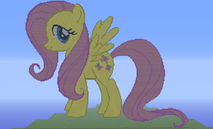 My Little Pony Fluttershy Minecraft by Fluttershy1502