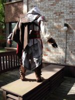 Back shot Ezio cosplay by Forcebewitya