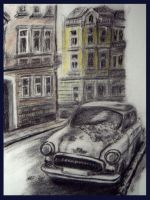Old car by pinyty