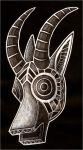 Antelope Mask by CanisAlbus