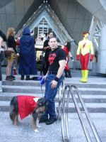 Superboy and Krypto by SonGokuSS3