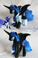 Nightmare Moon Queen of Winter Plush by MalwinaHalfMoon