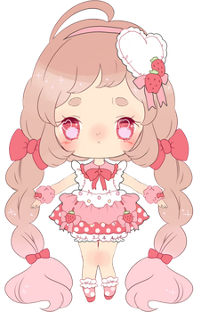 magical strawberry adoptable by Hacuubii