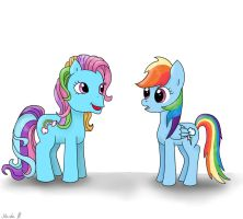 Two Rainbows by FinnishGirl97