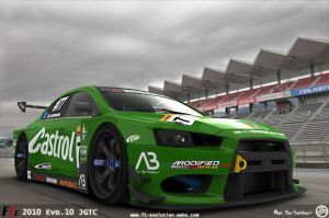 2010 F1E Evolution X JGTC 3 by AfroAfroguy