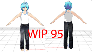 acure new model WIP by deangagaTR