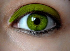 Birthstone Eyes: Peridot by Padfoot7411