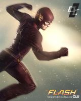 The Flash CW by superjabba425