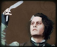 Sweeney todd by gilly15