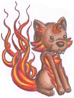 Flaming Moss by Wooded-Wolf