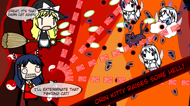 Orin Kitty Raises Some Hell! by Ethan-Rivers