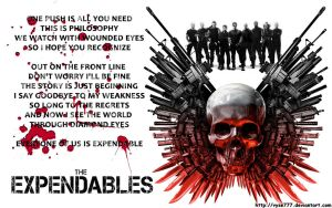 The Expendables by Vyse777