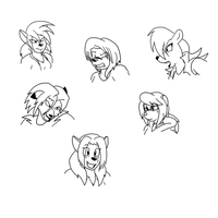 expressions practice 7 by SorcererLance