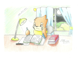 Busy Buizel by BuizelCream