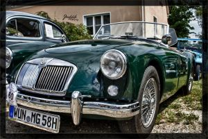 Old MG Rover Convertible by deaconfrost78