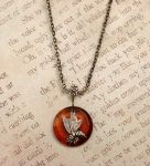 Touch of Honey Necklace by FusedElegance