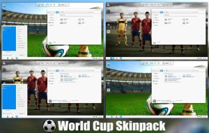 Fifa World Cup 2014 Skinpack For Windows 7/8/8.1 by TheDhruv