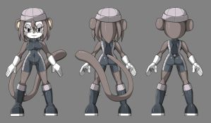 Xian The Monkey - Reference by Eins-to-Erin