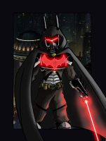 Darth Wayne by DarkstreamStudios