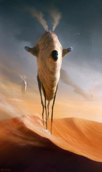 Ancient Dunewalker by Balaskas