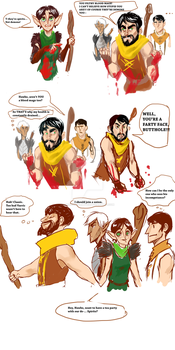 Dragon age 2 - Hawke is a Blood Mage by MadnessUnlimited