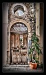 Wrecked Doorway in Crete by etsap
