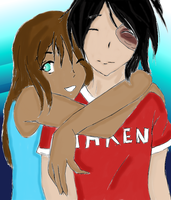 Zutara Almost there Colored by Middelo