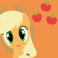 Icon: Applejack by demonreapergirl