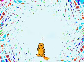 Charmander Abstract by Aqws7