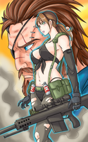 Metal Gear Solid 5 by Ray-D-Sauce