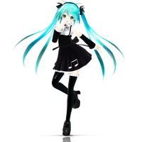 Gothic Miku by Crystallyna