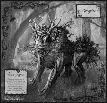 Forest Grogtit by KysSillyDesignStudio