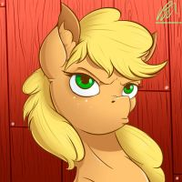 Honestly, it's Applejack by Pajama-Ham