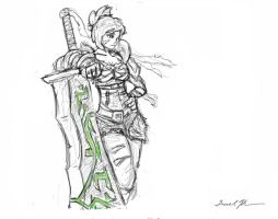 Riven the Exile by L3monJuic3