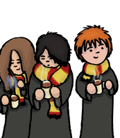 The Golden Trio by SuperMuts