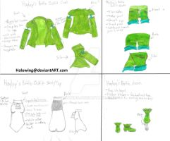 Hayley's Battle outfit: Level Soldier. by Halowing
