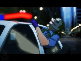 Cop Car Joker by Freakzter