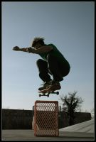 Tommy: Ollie over box by koyle