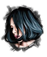 Painting Potrait by Agamnn17