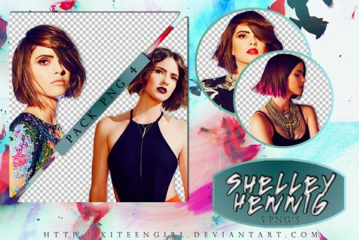 Shelley Hennig - PACK PNG 4 by Kiteengirl