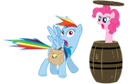 Where are you going? - Now with Rainbow Dash by Nyax