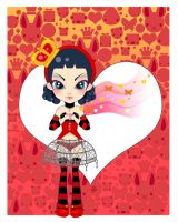 Queen of Hearts by marywinkler
