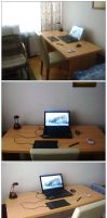 my new private workspace by JacobMainland